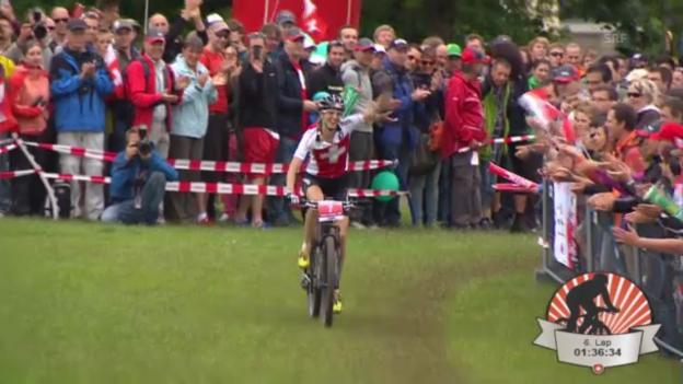Video «MTB-EM: Cross Country der Frauen («sportpanorama»)» abspielen