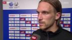 Video «Fussball: Stimmen zum Spiel GC - Lille» abspielen