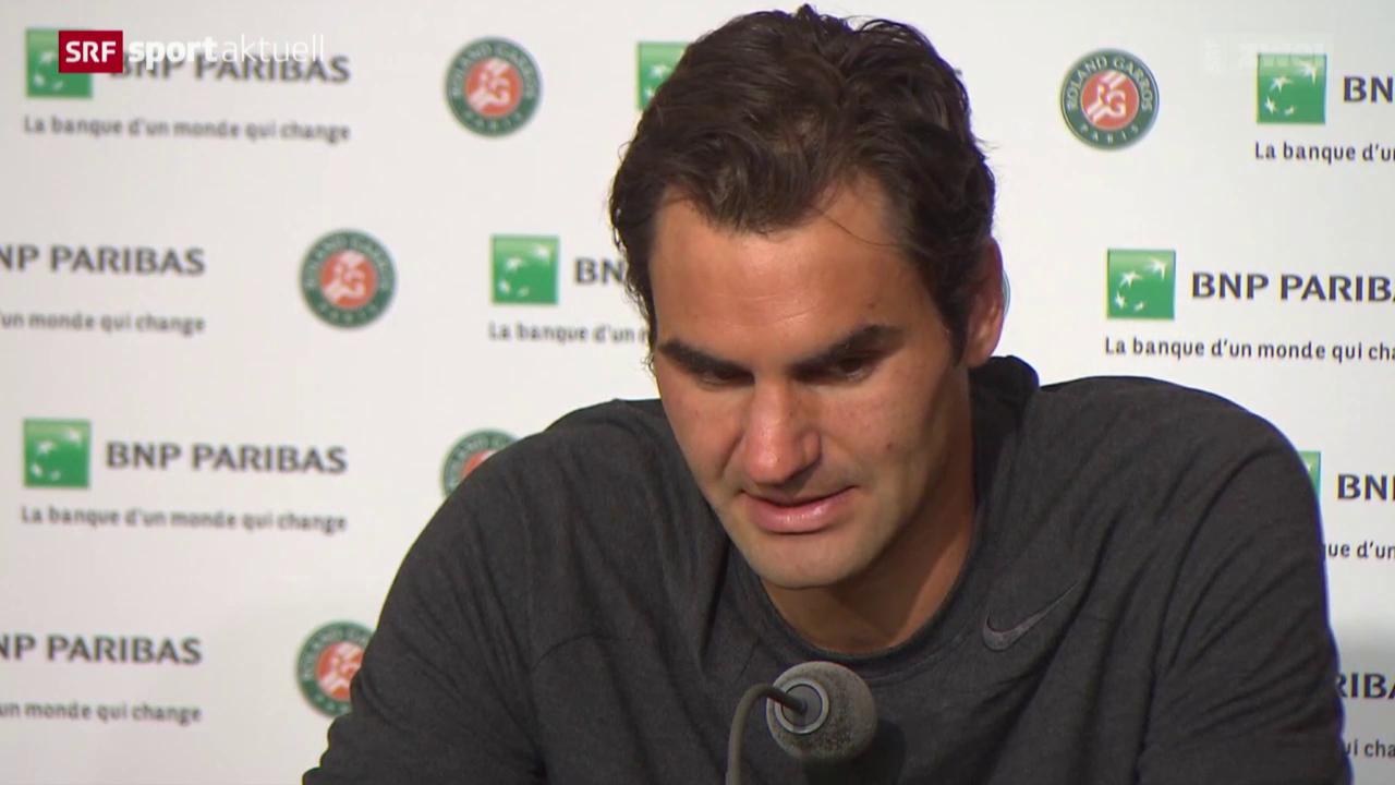 Tennis: French Open, Reaktionen zum Schweizer Viertelfinal in Paris