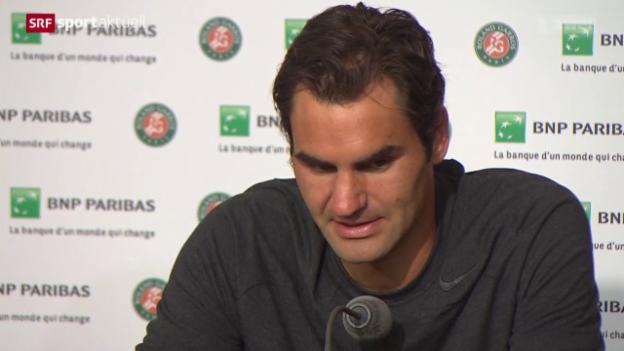 Video «Tennis: French Open, Reaktionen zum Schweizer Viertelfinal in Paris» abspielen