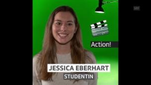 Video «Jessica Eberhart, für «Hallo SRF!» bei SRF News» abspielen