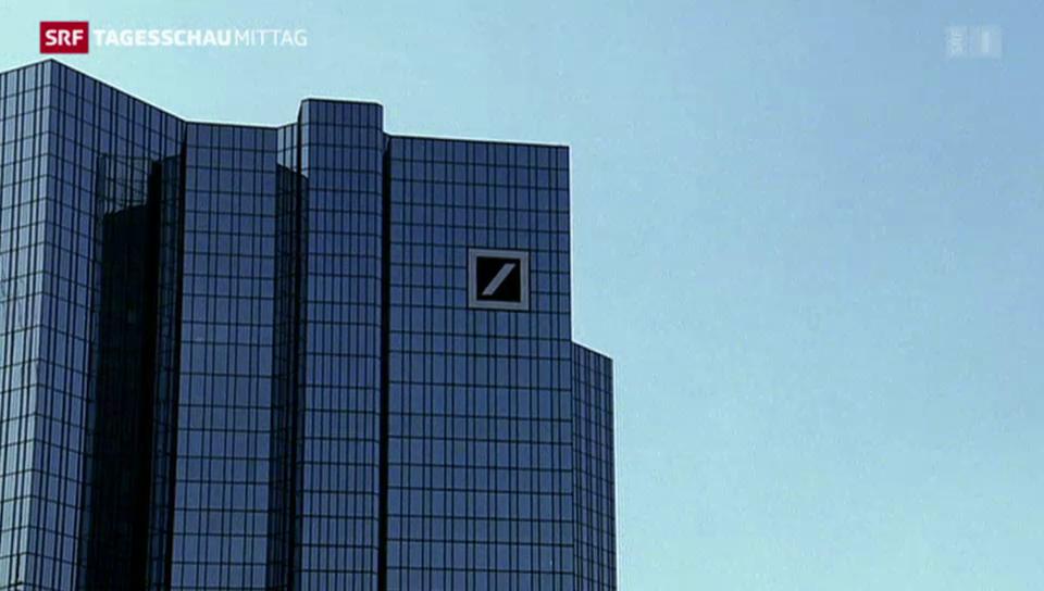 Deutsche Bank auf Sparkurs