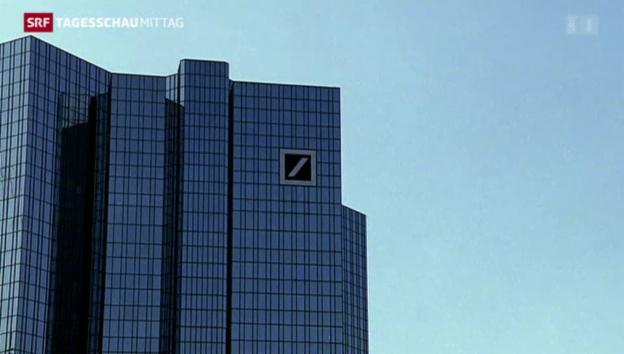 Video «Deutsche Bank auf Sparkurs» abspielen