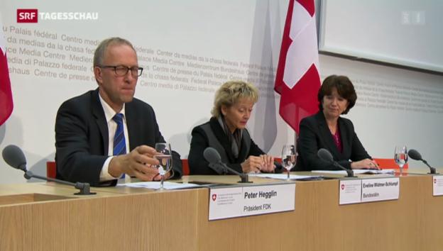 Video «Bundesrat kritisiert SVP-Familieninitiative» abspielen