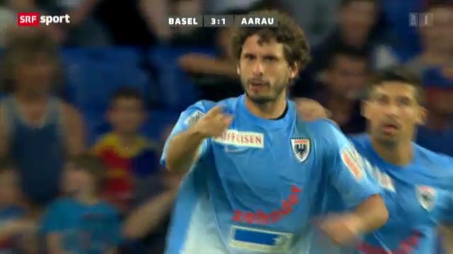 Fussball: Basel-Aarau