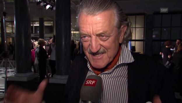 Video «Dieter Meier über die Mode seiner Tochter» abspielen