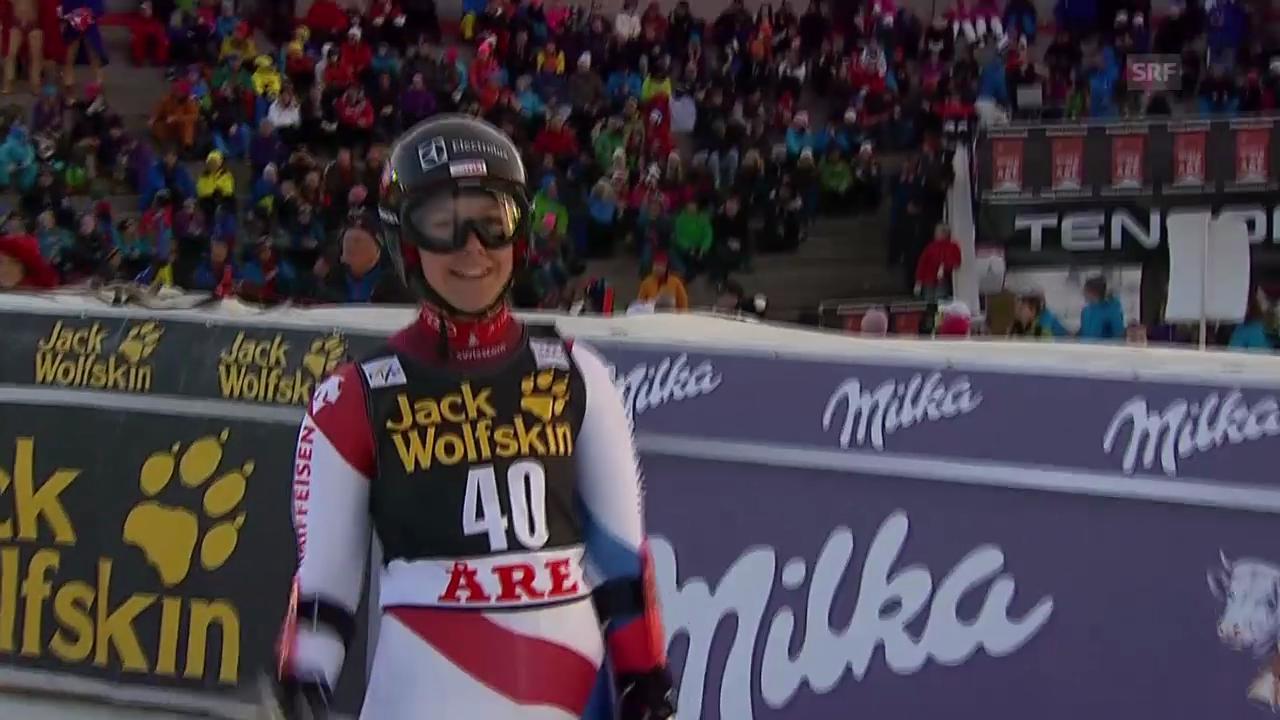 Ski alpin: Riesenslalom Are, 2. Lauf Wendy Holdener («sportlive», 6.3.14)
