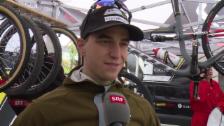 Video «Moutain-Bike, WM Andorra, Schurter über die Höhe der Strecke» abspielen