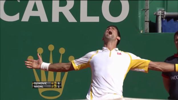 Video «Die letzten 2 Duelle Nadal-Djokovic» abspielen
