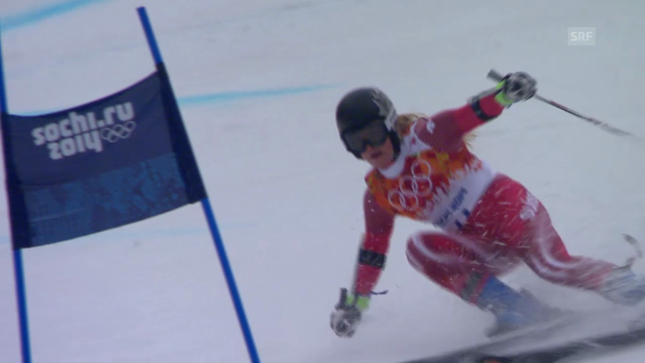 Ski: Riesenslalom Frauen, 2. Lauf Gut (sotschi direkt, 18.2.2014)