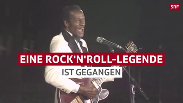 Video «Eine Rock'n'Roll-Legende ist gegangen» abspielen