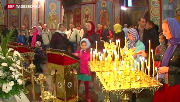 Video «Patriarchen kritisieren sich gegenseitig» abspielen