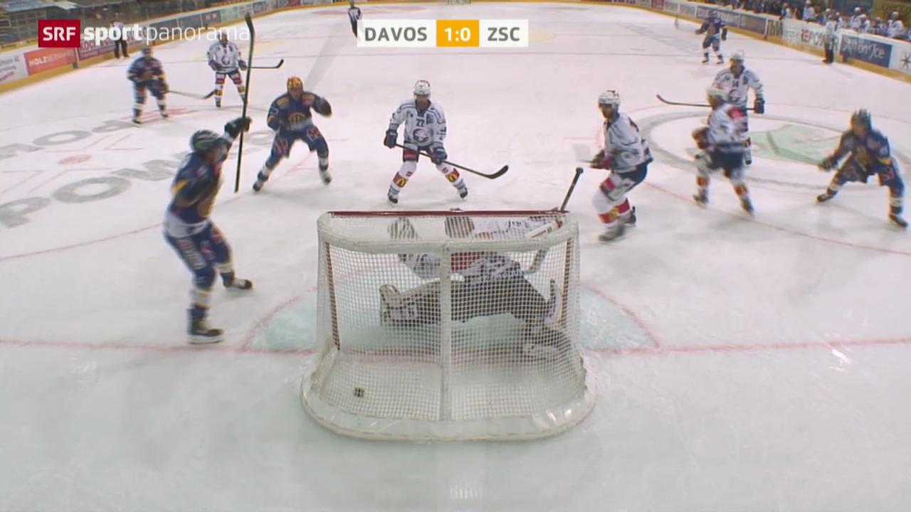 Eishockey: NLA, Davos - ZSC