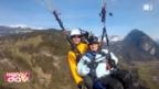 Video «Annemarie fliegt Gleitschirm» abspielen