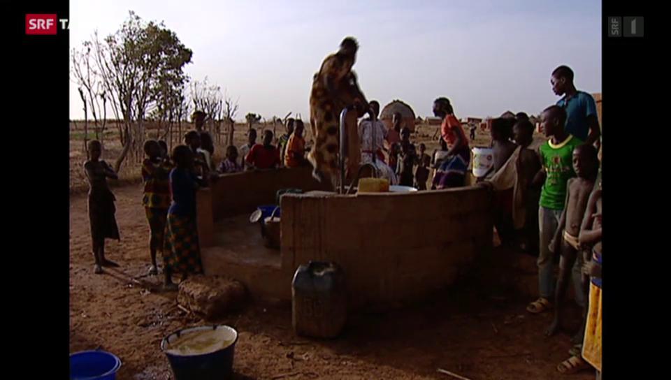 Weniger Geld für Entwicklungshilfe