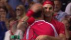 Video «Tennis: Wichtigste Punkte Federer - Fognini» abspielen