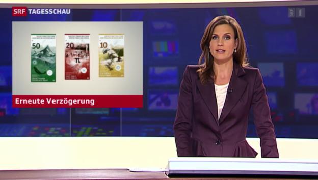 Video «Auch im nächsten Jahr noch keine neuen Banknoten» abspielen