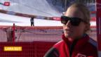 Video «Ski alpin: Stimmen zum 1. Training der Frauen» abspielen