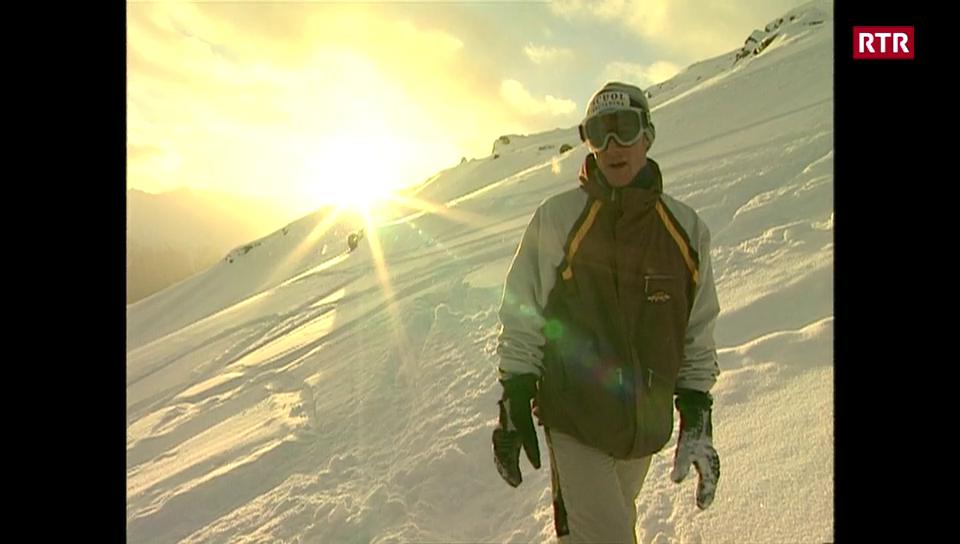 Fadri Mosca - campiun mundial da snowboard alpin