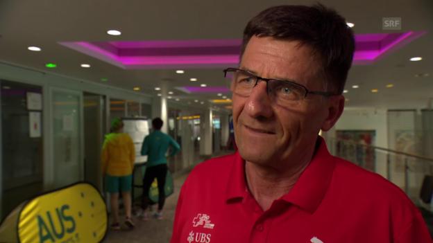 Video «Peter Haas: «Sind offenbar eine attraktive Sportart für Frauen»» abspielen
