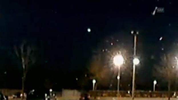 Video «Meteorit über der US-Ostküste» abspielen