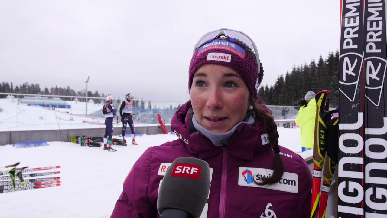 Aita Gasparin vor der WM in Oslo im Interview