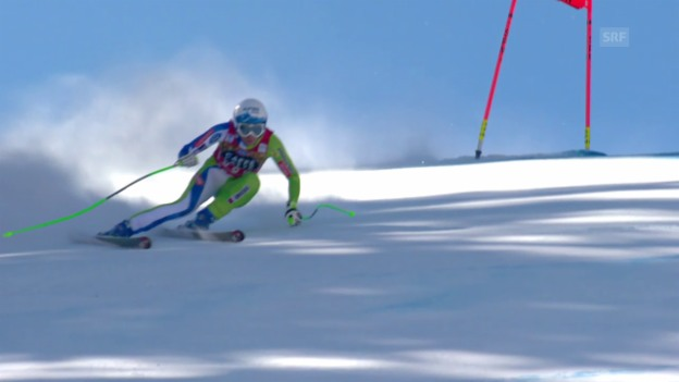 Video «Stuhec rast in Aspen zum Sieg – und zur Kristallkugel» abspielen