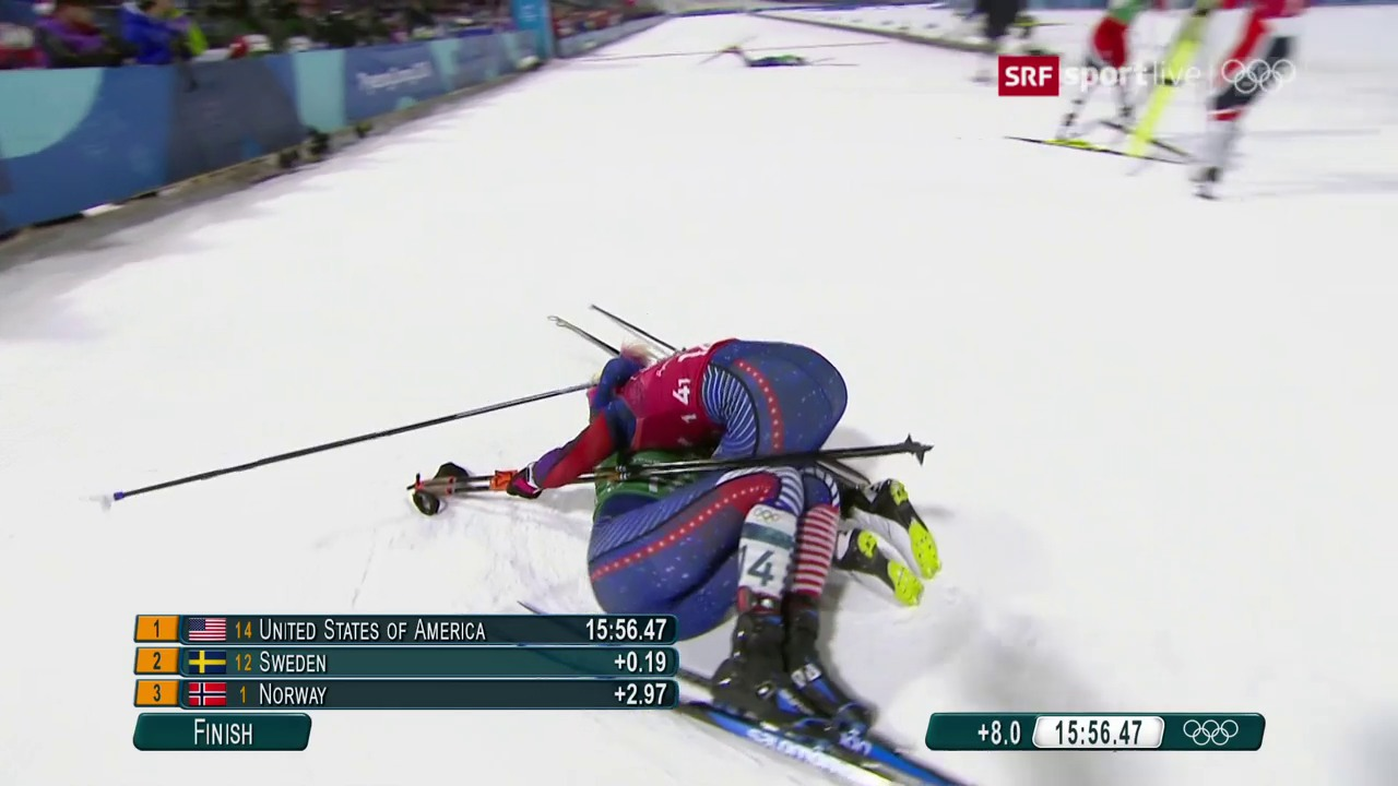 Diggins sprintet zu Gold