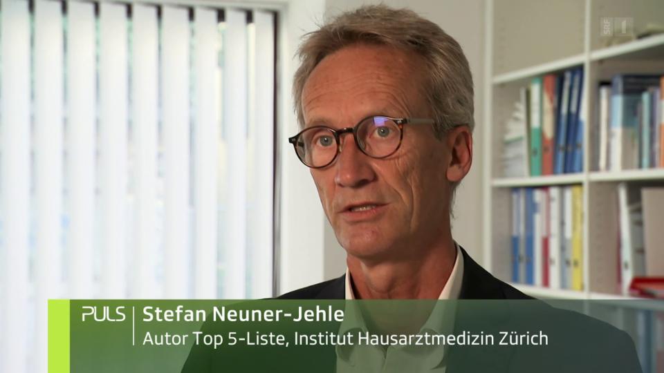 Stefan Neuner-Jehle: «Die Wirkung ist bei einigen Behandlungen nicht wie erhofft.»