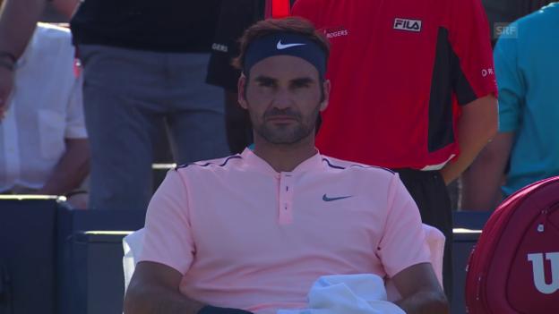 Video «Montreal-Final: Zusammenfassung Federer - Zverev» abspielen