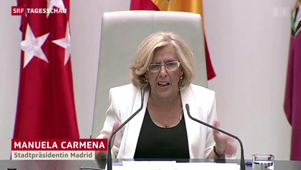 Linke erobern spanische Städte