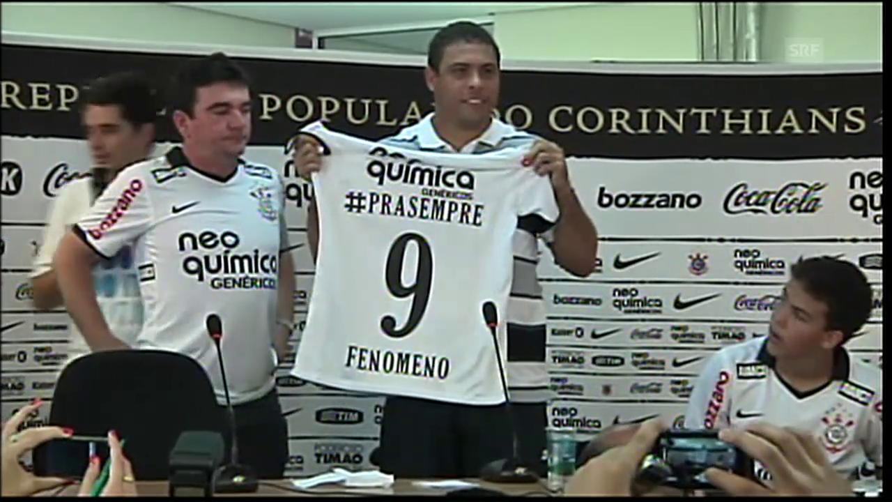 Szenen aus Ronaldos Karriere