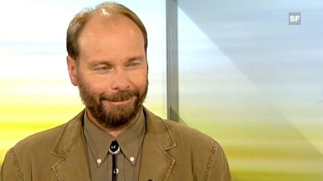 Interview mit Reinhard Schnidrig, eidgenössischer Jagdinspektor, vom 4.9.2011