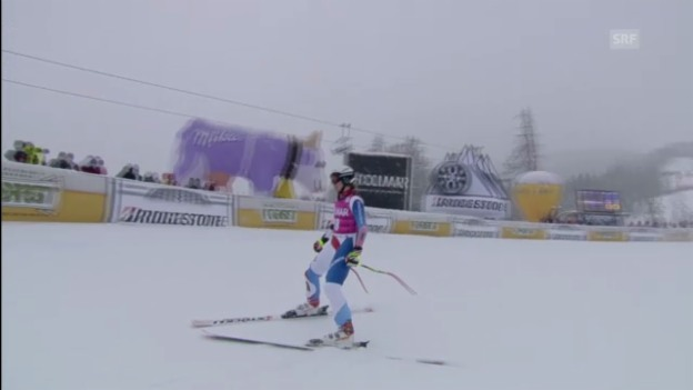 Video «Ski alpin: Super G von Fabienne Suter in Cortina («sportlive»)» abspielen