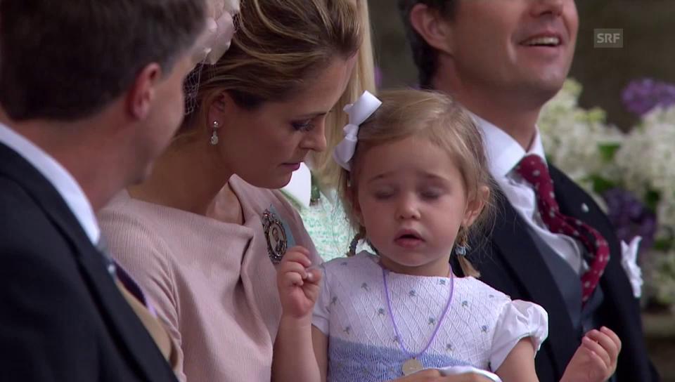 Prinzessin Leonore, Tochter von Prinzessin Madeleine