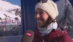Video «Ein Mikrofon für Dominique Gisin» abspielen