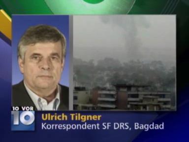 Video «Telefonschaltung zu Ulrich Tilgner in Bagdad» abspielen