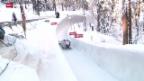 Video «Bob: Zweier-Weltcup in St. Moritz» abspielen