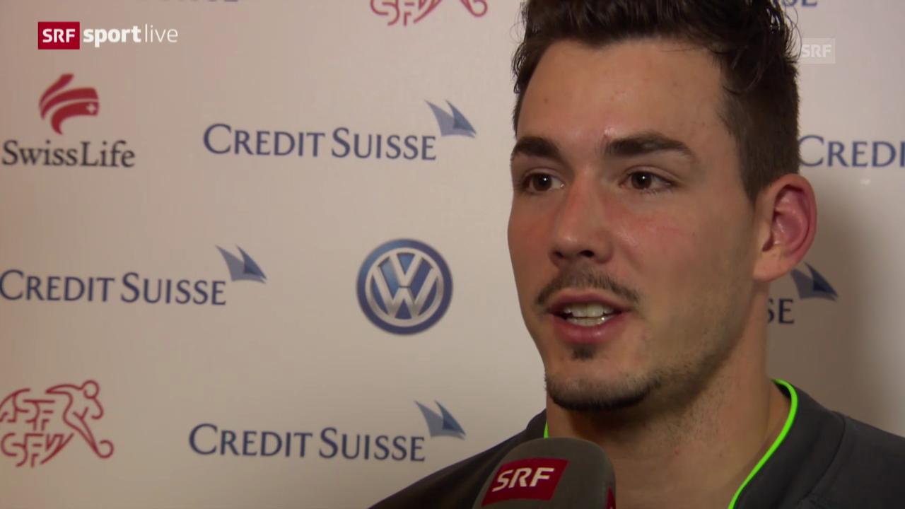 Fussball: Roman Bürki zu seinem Nati-Debüt