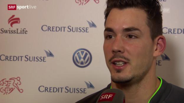 Video «Fussball: Roman Bürki zu seinem Nati-Debüt» abspielen