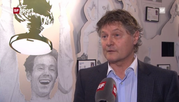 Video «FCZ-Präsident Ancillo Canepa zur Entlassung von Rolf Fringer («sportaktuell»)» abspielen