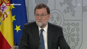 Video «Misstrauensantrag gegen Spaniens Regierungschef» abspielen