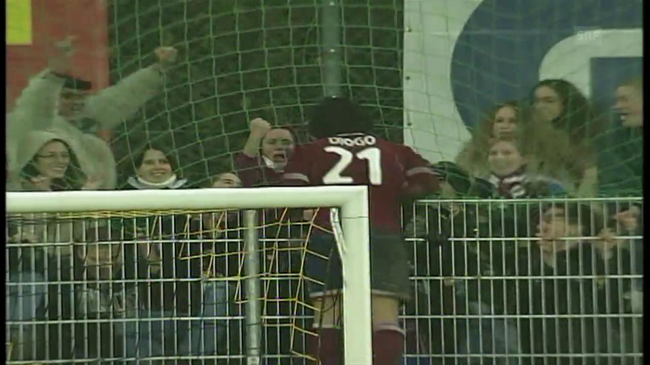 Am 05.12.2004 passierte es: Servettes Diogo verliert den Finger