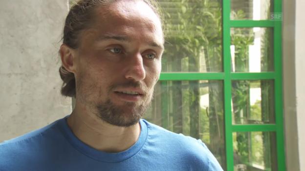 Video «Dolgopolow: «Ich werde bereit sein»» abspielen