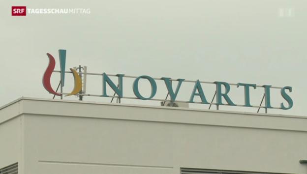 Video «Grossumbau bei Novartis» abspielen