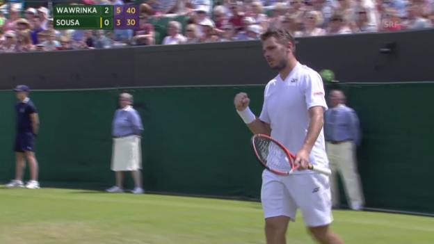 Video «Tennis: Auslosung Wimbledon 2015» abspielen