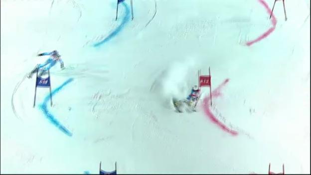 Video «Parallel-Slalom in Moskau: Holdener besiegt Maze» abspielen