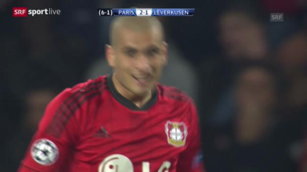 Video «Fussball: CL-Achtelfinal-Rückspiel, Paris St-Germain - Leverkusen («sportlive», 12.03.2014)» abspielen