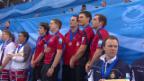 Video «Curling: EM, Siegerehrung mit der Schweiz» abspielen