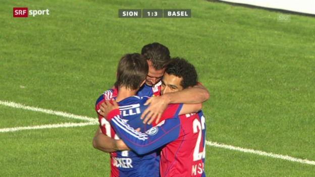 Video «Fussball: Sion - Basel («sportpanorama»)» abspielen